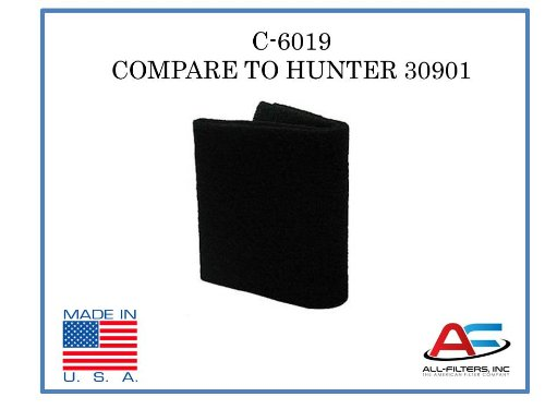 Aftermarket Hunter Air Purifier Carbon Replacement Pre-Filter for Models 30901, 30903, 30907, 30958, and 30959 (Hunter Air Filter Machine compare prices)