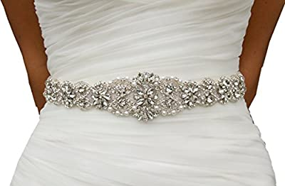 SoarDream Bridal Sash, Wedding Belt, Bridal Dress Belt.