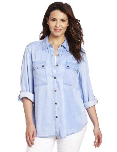 Jones New York Women's Plus-Size Equipment Shirt