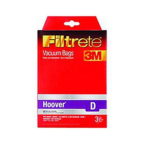 (3-Pk) 64711 Filtrete Hoover D Vacuum Bags