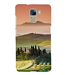 printtech Nature View Scenery Back Case Cover for Huawei Honor 7