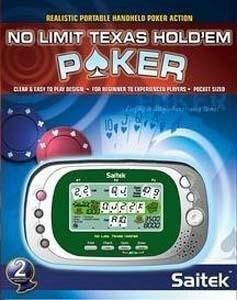 Saitek X No Limit Texas Hold Em Poker Handheld Game