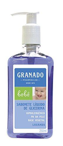 Linha Bebe Granado - Sabonete Liquido de Glicerina Lavanda 250 Ml - (Granado Baby Collection - Lavender Glycerin Liquid Soap 8.45 Fl Oz)