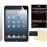 TECHGEAR® [2 Pack] ANTI GLARE / MATTE LCD Screen Protector Guards with cleaning cloth for Apple iPad Mini, iPad Mini 2 & iPad Mini 3