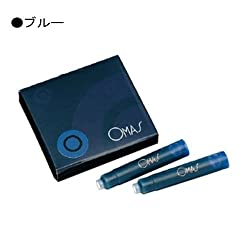 Omas Ink Cartridge, Blue