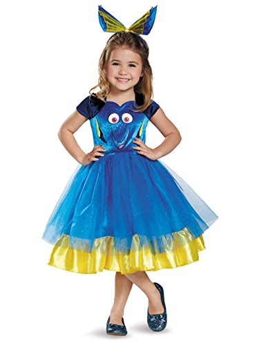 Cute Girls Dory Toddler Tutu Finding Dory Costume