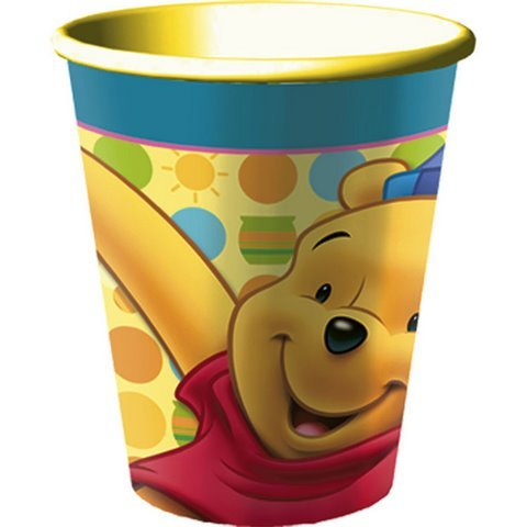 Poohs First Birthday Souvenir Cup 16 oz. Plastic - Each - 1