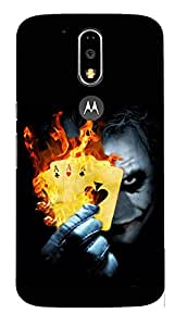 Doyen Creations Designer Printed High Quality Premium case Back Cover For Moto G4 Plus
