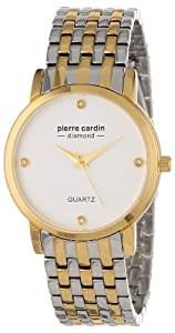 Pierre Cardin Men's PC900911001 Classic Analog Diamond Accents Watch