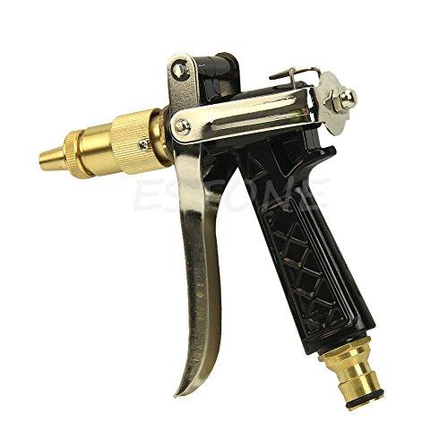 Metal Hose Nozzle High Pressure Garden Auto Car Washing Water Gun Sprayer 1PC (Auto Parts Zilla compare prices)