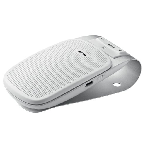 Jabra Drive In-Car Bluetooth Speakerphone - Retail Packaging - White