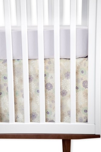 Finn + Emma Fitted Knit Crib Sheet-Light Purple~100% Organically Grown