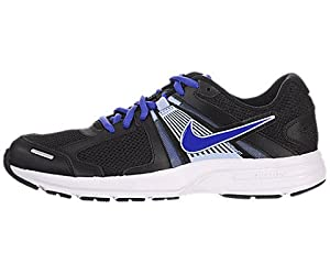 Nike Womens Dart 10 Running Shoes, Black, 6 M Us  Black/Ice Blue/Silver/Violet Force