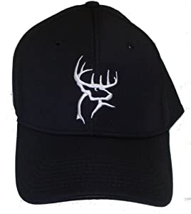 Amazon.com : Buck Commander Flex Fitted Cap, Black : Hunting And