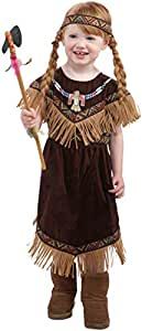 Child American Indian Costume, Running Brook