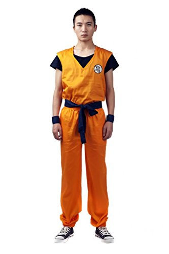 Mtxc Men's Cosplay Costume Master Roshi Kung Fu Outfit