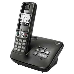 Gigaset A420A Téléphone Sans fil DECT/GAP Répondeur Noir