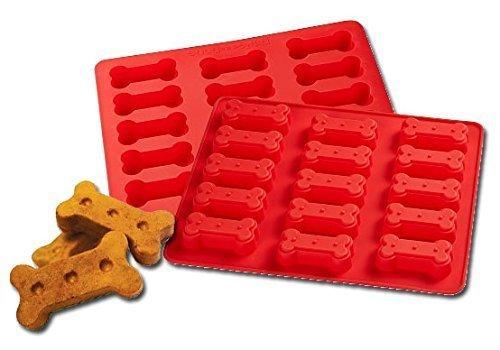 Large Bone-Shaped Cookie Dog Treats Bake Mold - 15 Cavities 3