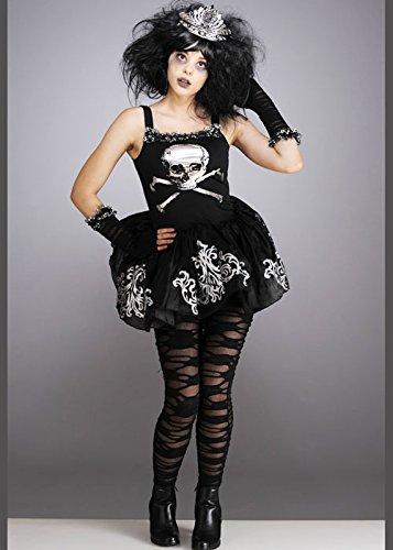 [Teen Gothic Zombie Ballerina Halloween Costume XL (12-14 years)] (Gothic Ballerina Halloween Costumes)
