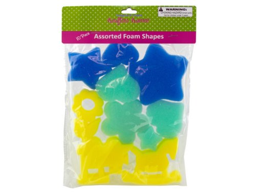 Craft Foam Shapes - Case of 48
