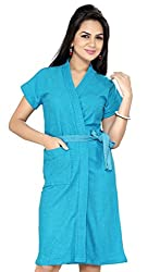Superior Firozi Bathrobe Free Size