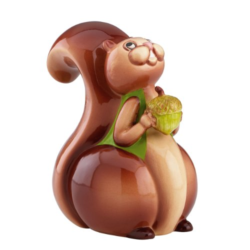 Gorham Merry Go Round Pitter Patter Nutty Squirrel Bank - 1