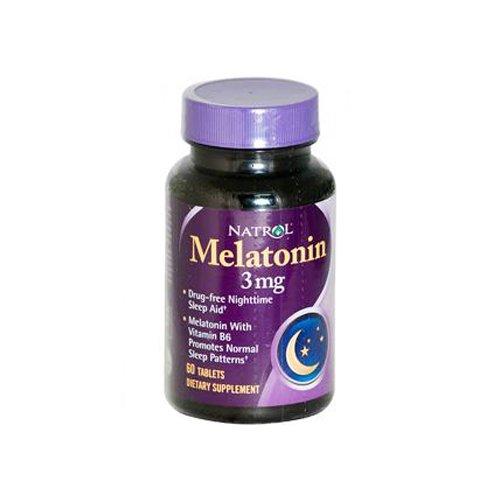 Natrol Melatonin 3 Mg 60 Tablets