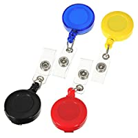 Pink Lizard Retractable Card Key Holder Tag Reels Badge Plastic Belt Clip by Pink Lizard Products