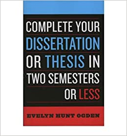 Resources for Writing a Thesis or Dissertation | Graduate