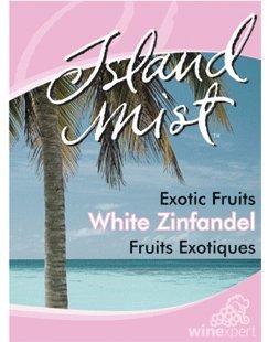 Island Mist Exotic Fruits White Zinfandel Labels 30/Pack