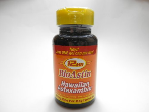 BioAstin ハワイアンアスタキサンチン アスタキサンチン12mg