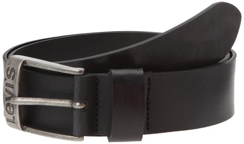 Levi's - DUNCAN, Cintura Unisex - Adulto, Nero (BLACK), 100 cm (Taglia Produttore: 100 cm (Taille fabricant 100)