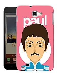 """Humor Gang Paul The Beatles Printed Designer Mobile Back Cover For """"Samsung Galaxy Note 1"""" (3D, Matte, Premium Quality Snap On Case)"""