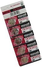 Maxell CR2032 pila 3V Lítio Pack 5 unidades