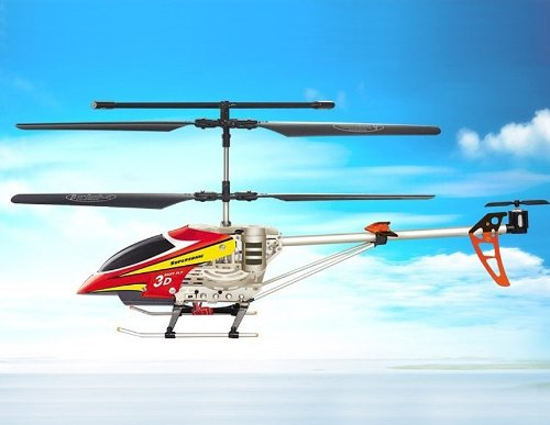 SongYang 8088-34A 3 Channels RC Helicopter (Red)