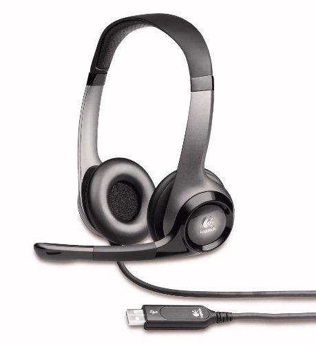 Logitech H530 USB Kopfhörer schwarz