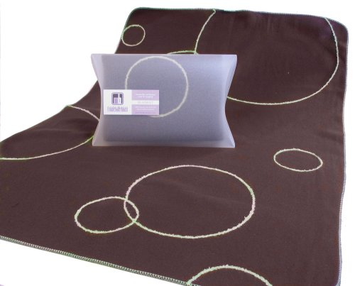 Modern Basics Brown Bubble Blanket 40X30