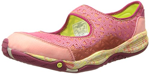Merrell Women's All Out Bold Mary-Jane Slip-On Walking Shoe,Geranium,7.5 M US