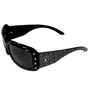 Oakland Raiders Designer Ladies Sunglasses by Siskiyou