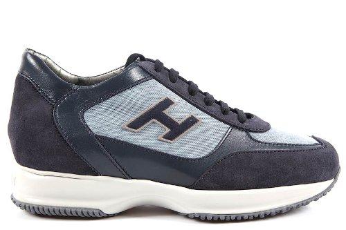 Hogan scarpe sneakers uomo in pelle interactive