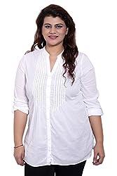 White Full Sleeve Tunic_LISS543_L
