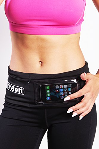 Buy Discount FitBelt - Running Belt with zipper for iPhone 6 / 6 Plus & Android Smartphones + Touchs...