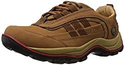 Redchief Mens Rust Leather Trekking and Hiking Footwear Shoes - 8 UK (RC2021 022)