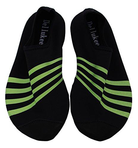Women Men Water Shoes Beach Swimming Aqua Footwear Pool Swim Yoga Shoes-BKS2-M