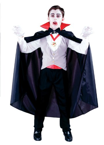 Fun World 1693 Classic Vampire Child Costume Size Standard One-Size- 7-10 - 1