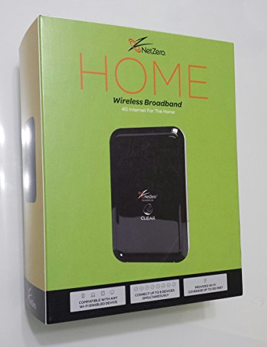 Netzero Home Wireless Broadband Device 4g Internet for the Home