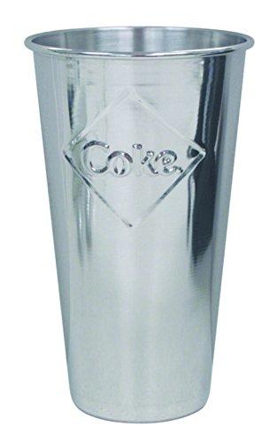 Tablecraft CC64E Coca-Cola Malt Cup, Silver