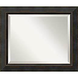 \'Wall Mirror Medium, Signore Bronze\': Outer Size 20 x 24\