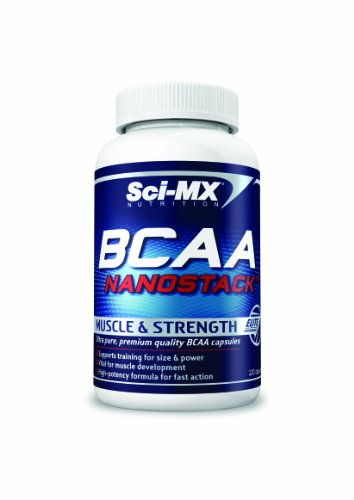 Sci-MX Nutrition BCAA Nanostack Muscle and Strength Capsules - Tub of 120