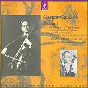 Gaspar Cassado - Gaspar Cassado, Vol. 1 - Amazon.com Music